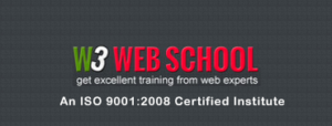 social media marketing courses in kolkata - W3 web school logo