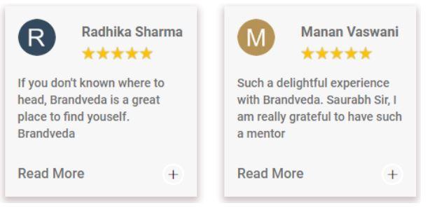 social media marketing courses in ahmedabad - brandveda student review