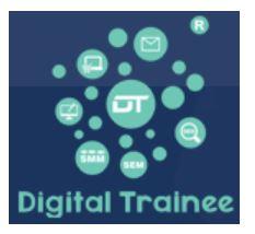 social media marketing courses in pune - digital trainee logo