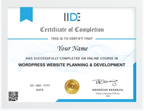 wordpress Courses in Jaipur - wordpress certification