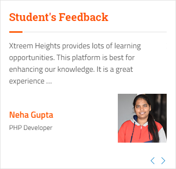 wordpress Courses in jaipur - Xtreem Heights student review