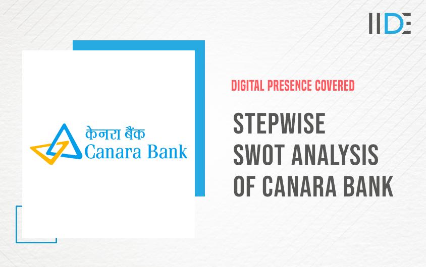 SWOT Analysis of Canara Bank | IIDE
