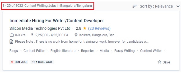 Content Writing Courses in Bangalore - Content Writing Job Opportunities
