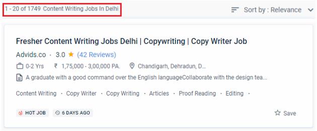 Content Writing Courses in Delhi - Jobs Opportunities in Delhi