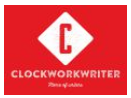 Content Writing Courses in Hyderabad - Clockwork Writer Logo