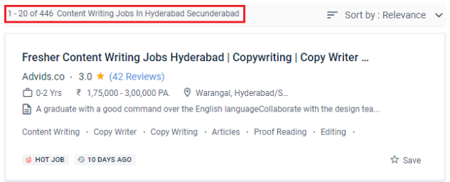 Content Writing Courses in Hyderabad - Job Opportunities