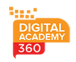 Content Writing Courses in bangalore - Digital Academy 360 Logo