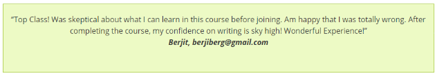 Content Writing Courses in bangalore - Leads Student Review