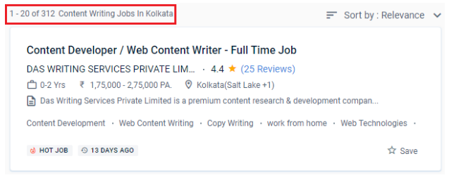 Content Writing Courses in kolkata - Job Opportunities