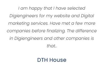 Digital Marketing Agencies in Agra - Digiengineers Client Review