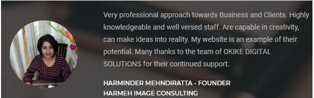 Digital Marketing Agencies in Dehradun - Okike Client Review