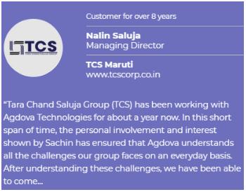 Digital Marketing Agencies in Faridabad - Agdova Technologies Client Review