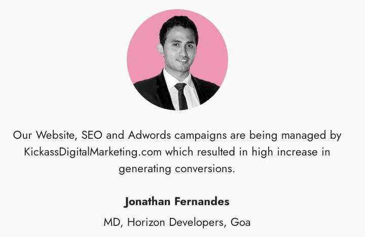 Digital Marketing Agencies in Goa - Kickass Client Review