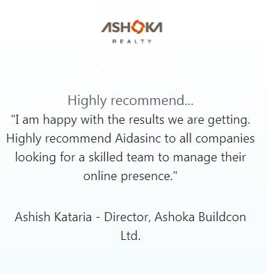 Digital Marketing Agencies in Nashik - Aidasinc Client Review