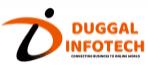 Digital Marketing Companies in Punjab - Duggal Infotech Logo