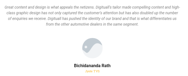 Digital Marketing Companies in Bhubaneswar - Digituall Client Review