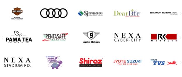 Digital Marketing Companies in Bhubaneswar - Digituall Clients