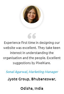Digital Marketing Companies in Bhubaneswar - PixelKare Client Review