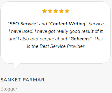 Digital Marketing Companies in Gwalior - Go Beens Client Review