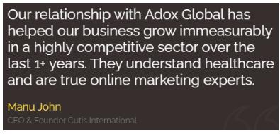 Digital Marketing Companies in Ernakulam - Adox Global Client Review