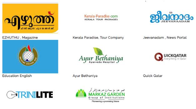 Digital Marketing Companies in Kerala - TGI Technologies Clients