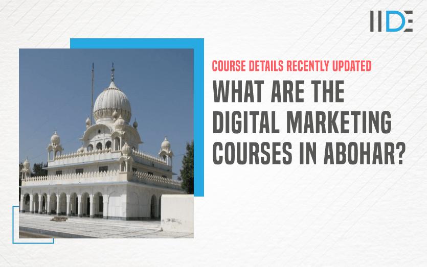 Digital Marketing Course in ABOHAR - featured image
