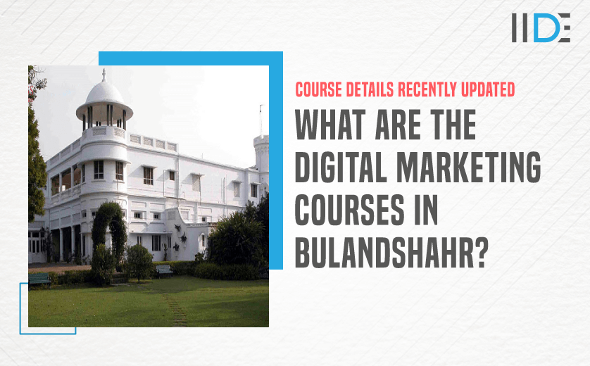 Digital Marketing Course in BULANDSHAHR - featured image