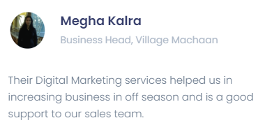 Digital Marketing Services in Nagpur - Flying Penguins Client Review