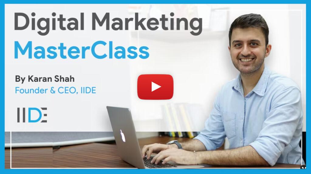 Digital Marketing Tutorial & Masterclass Blog Banner