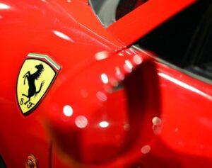 Ferrari Logo on the car | Swot analysis of Ferrari | IIDE