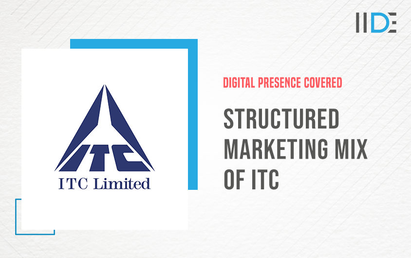 Structured Marketing Mix of ITC (4Ps) | IIDE