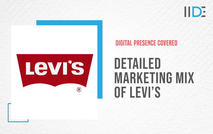 Detailed Marketing Mix of Levi's (4Ps) I IIDE