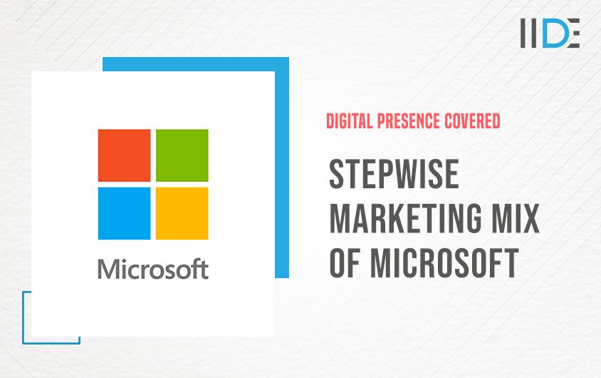 Stepwise Marketing Mix of Microsoft (4Ps)   IIDE