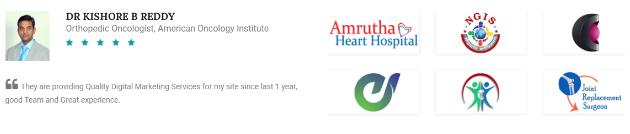 SEO Agencies in Hyderabad - Digital Exponents Clients & Reviews