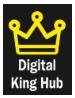 SEO Companies in Rajkot - Digital King Hub Logo