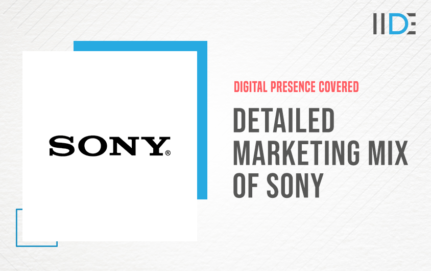 Marketing mix of Sony (7Ps)