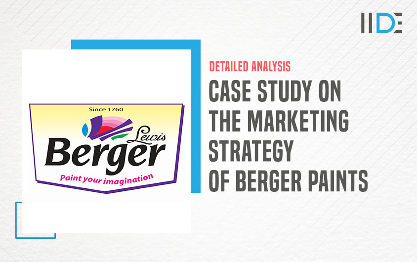 Marketing Strategy of Berger Paints featured image | IIDE