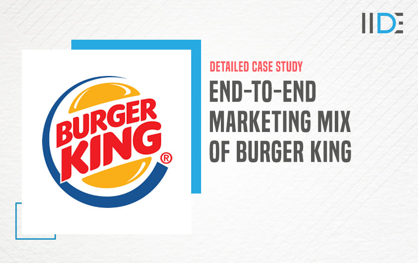 Marketing mix of Burger King- feature image |IIDE