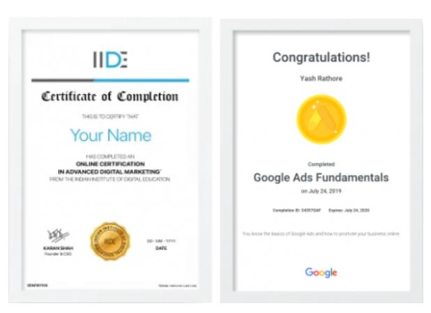digital marketing courses in BASTI - IIDE certifications