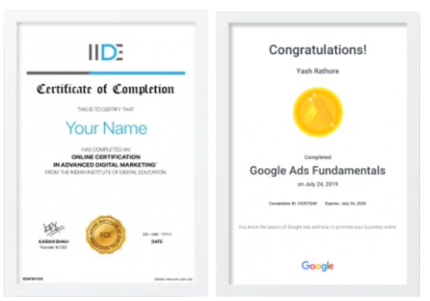 digital marketing courses in BHADRAVATI - IIDE certifications