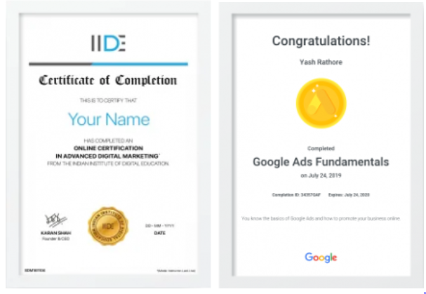 digital marketing courses in BHIWANI - IIDE certifications