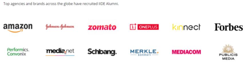digital marketing courses in BOTAD - IIDE alumni