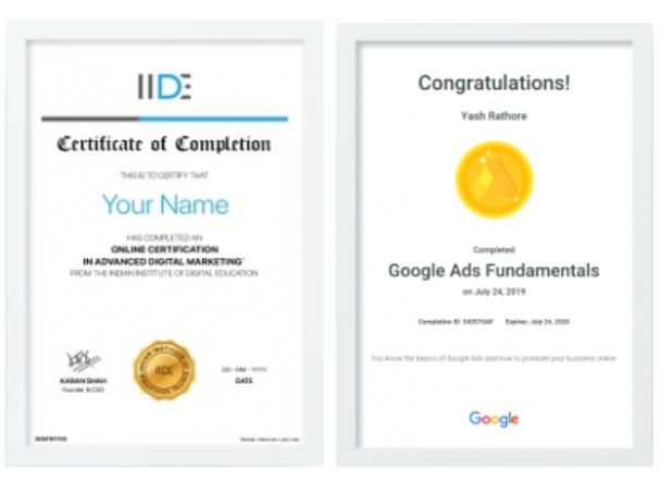digital marketing courses in CHANDAUSI - IIDE certifications