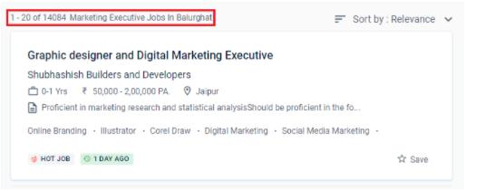 digital marketing courses in balurghat - job statistics