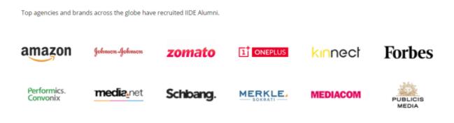 digital marketing courses in bilaspur - IIDE alumni