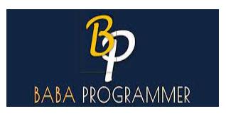 digital marketing courses in bilaspur - babaprogrammer logo