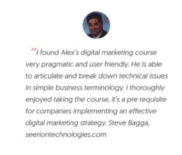 digital marketing courses in bilimora - Relaiblesoft Academy student testimonials