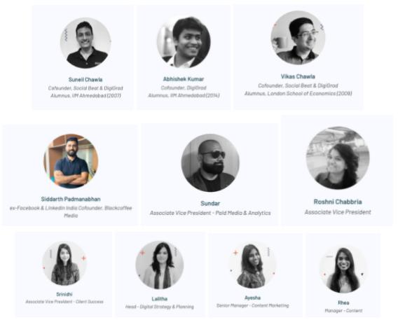 digital marketing courses in chandrapur - digigrad faculty