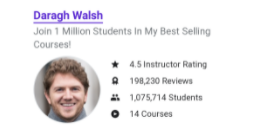 digital marketing courses in chas - udemy faculty