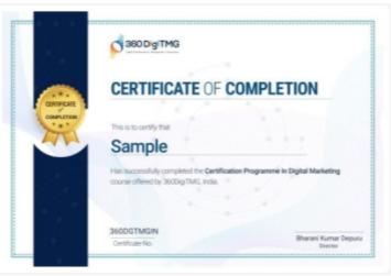 digital marketing courses in deoria - 360digitmg certificate